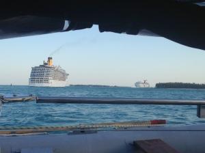 key west cruisships