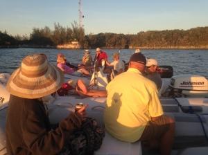 Bullocks Harbor dinghy-drift